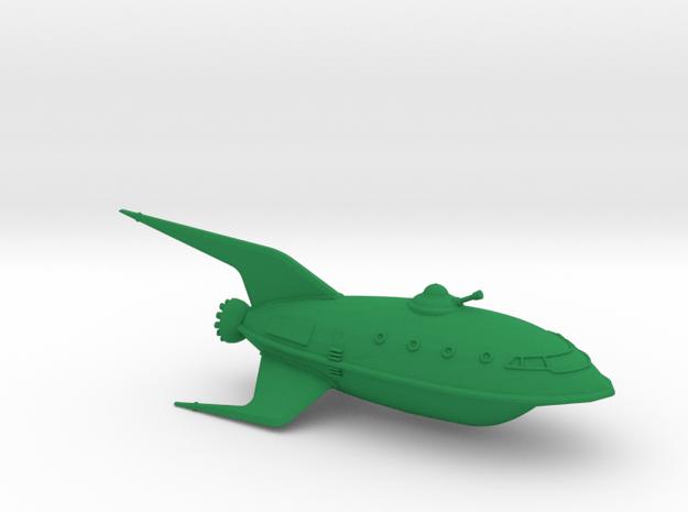 1/350 Futurama Planet Express (WSF Hollow) in Green Processed Versatile Plastic