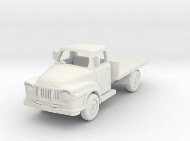 1:87 J1 Bedford in White Natural Versatile Plastic