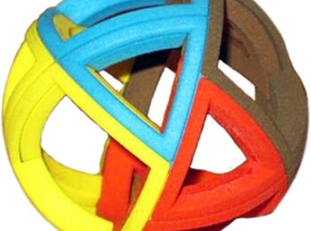 Minimal Twist in White Processed Versatile Plastic