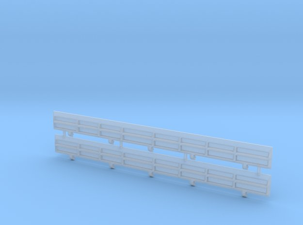 HO Scale Amtrak Style Difco Side Panels in Smooth Fine Detail Plastic
