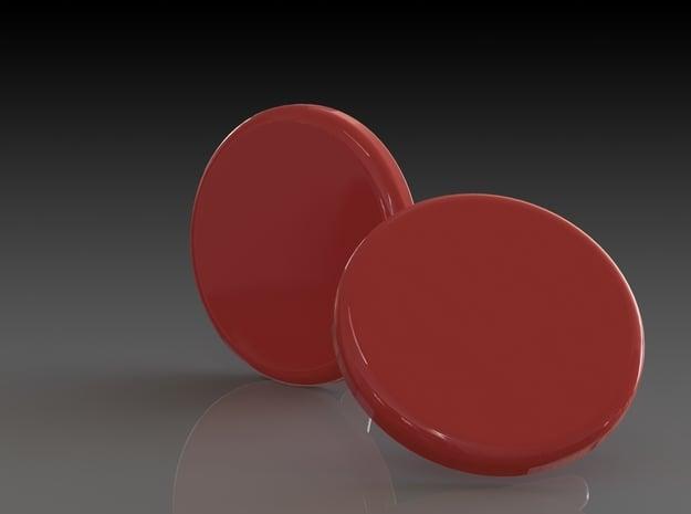 'Ø16' in Red Processed Versatile Plastic