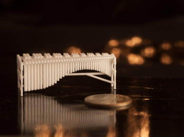 1:48 Marimba in White Natural Versatile Plastic