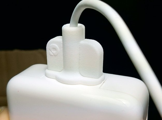 MagSavior™ - POW Clip (For 45W MagSafe 2 only)  in White Natural Versatile Plastic