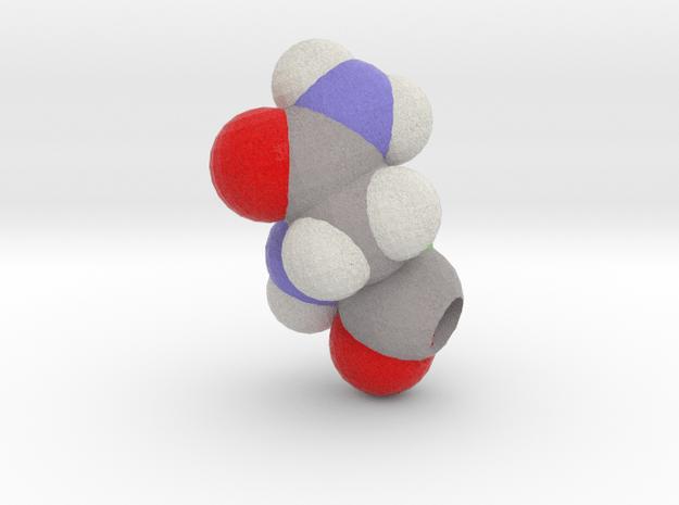 N is Asparagine in Full Color Sandstone