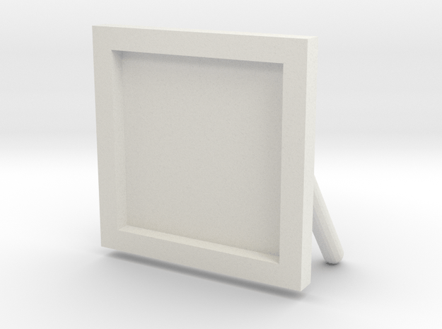 Sign in White Natural Versatile Plastic