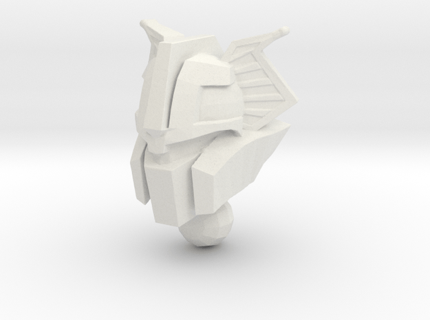 Chromehead Nickel Rock Style in White Natural Versatile Plastic