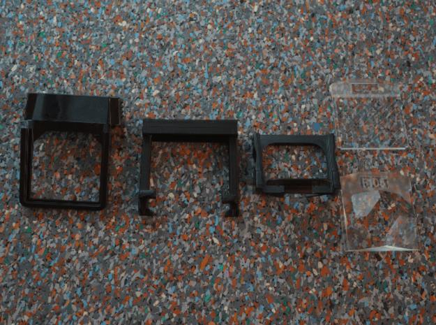 Image/Spectra Filter-Adapter for Polaroid SX-70 in Black Natural Versatile Plastic