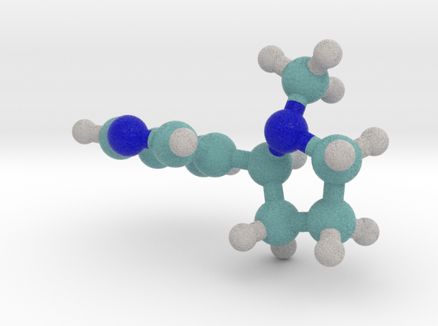 Nicotine in Full Color Sandstone