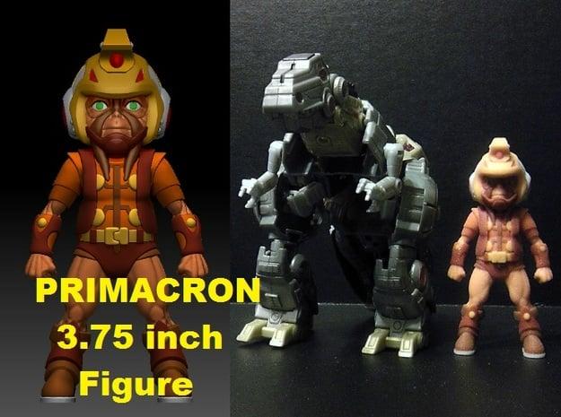 Primacron homage Space Monkey 3.75inch Mini Figure in Full Color Sandstone