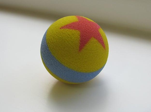 Luxo Jr. Ball Marble in Full Color Sandstone