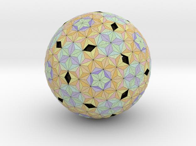 Football Triangular in Full Color Sandstone