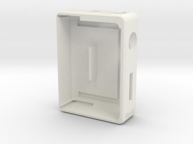 Box Mod -Bottom Feeder- Mark II in White Natural Versatile Plastic