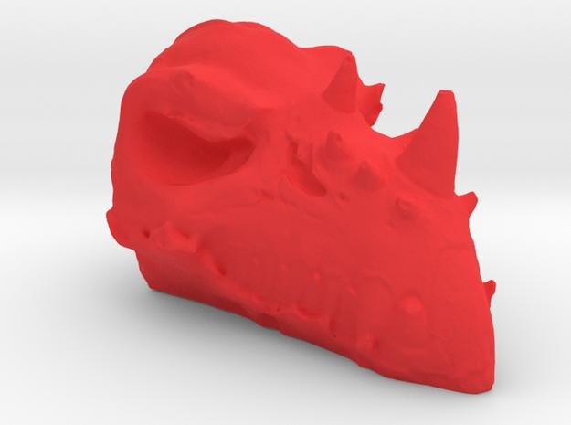 Bashersaurus  in Red Processed Versatile Plastic