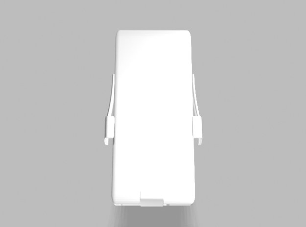 Universal Slim Smartphone Tablet 3200mah Charger in White Processed Versatile Plastic