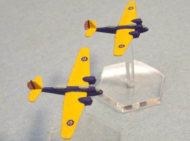 1/600 Martin B-10 (FUD) in Smooth Fine Detail Plastic