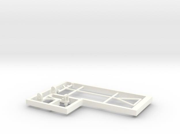 Kit pantograph type Lyra - loco E13 in White Processed Versatile Plastic