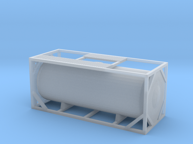 Cisterna-Container-20'-02 in Smooth Fine Detail Plastic