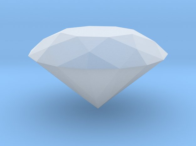 PERFECT DIAMOND in Smooth Fine Detail Plastic