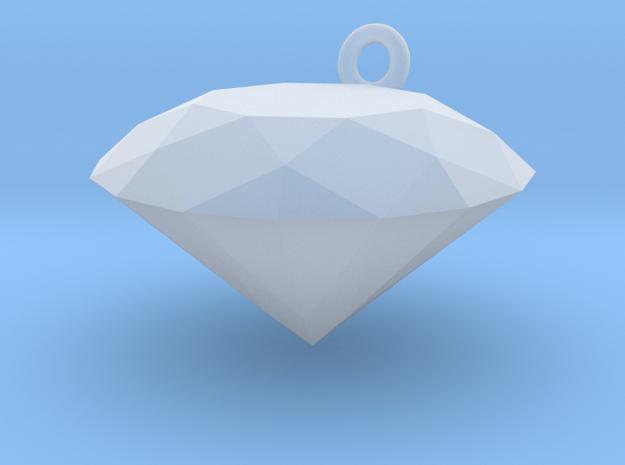 Diamond Cham in Smooth Fine Detail Plastic
