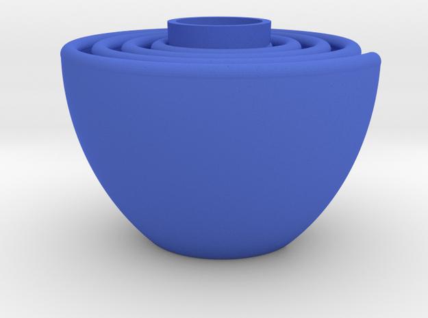 Snail in Blue Processed Versatile Plastic