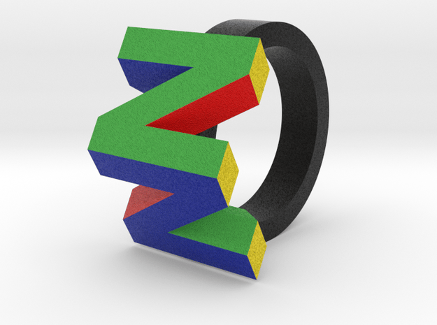 N64 Ring in Full Color Sandstone