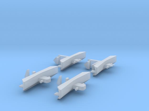 Schienenräumer für JC 2043 1/160 in Smooth Fine Detail Plastic