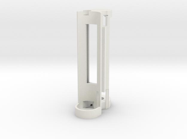 Mechanical - Internal Frame w/Magnet in White Natural Versatile Plastic
