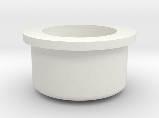 Mechanical  - Fire Button high in White Natural Versatile Plastic