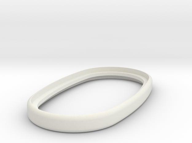 Mechanical - Ring in White Natural Versatile Plastic