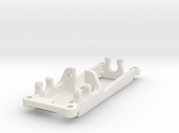 WINPOD 1MM OFFSET in White Natural Versatile Plastic