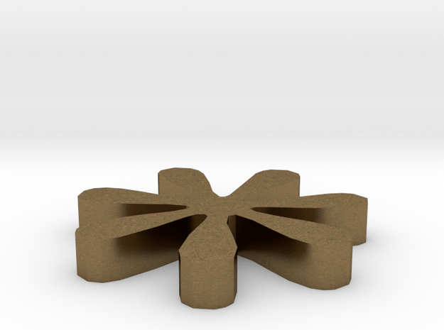 Asterisk - * in Natural Bronze