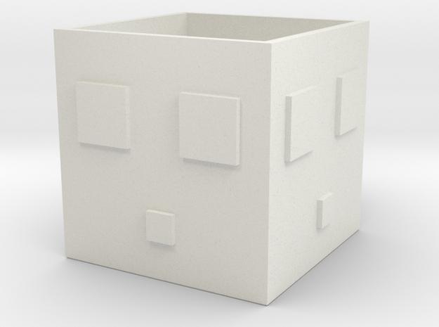 Minecraft Slime Mug in White Natural Versatile Plastic