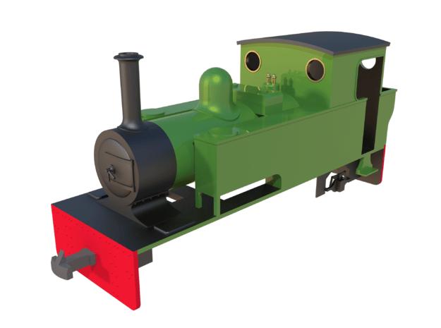 "009 Lynton & Barnstaple Railway ""Isaac"" in Smooth Fine Detail Plastic"
