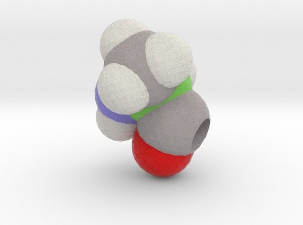 A is Alanine in Full Color Sandstone