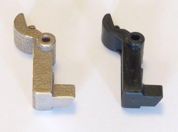 Panasonic SD255 / SD257 breadmaker dispenser latch in Polished Bronzed Silver Steel
