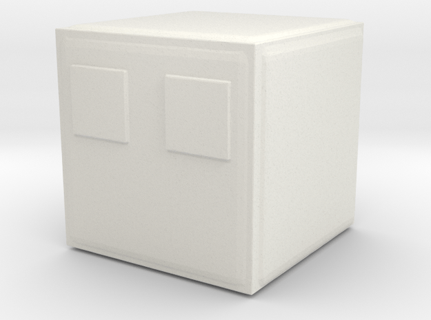Minecraft Magmacube Small in White Natural Versatile Plastic