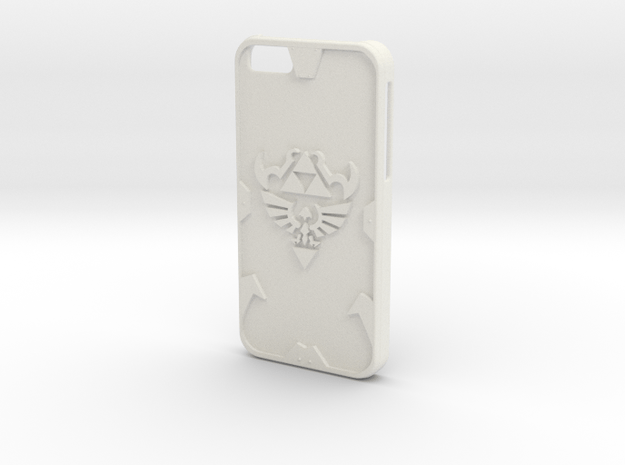 Zelda Case for IPhone 6 in White Natural Versatile Plastic
