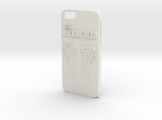 Walking Dead iPhone 6 Case in White Natural Versatile Plastic