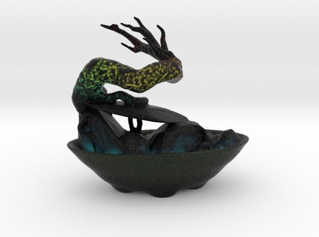 Alien Bonsai in Full Color Sandstone