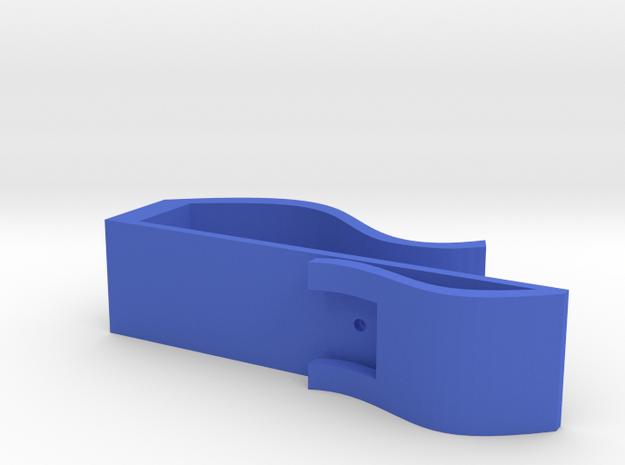 350X Smartphone/Tablet Microscope Slideholder in Blue Processed Versatile Plastic