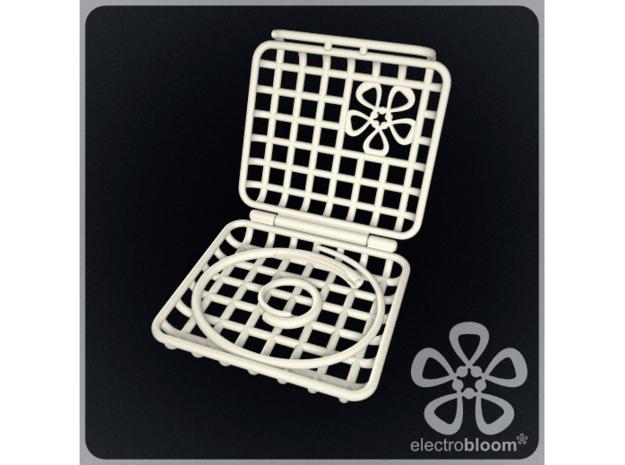 Jewellery gift box. in White Natural Versatile Plastic