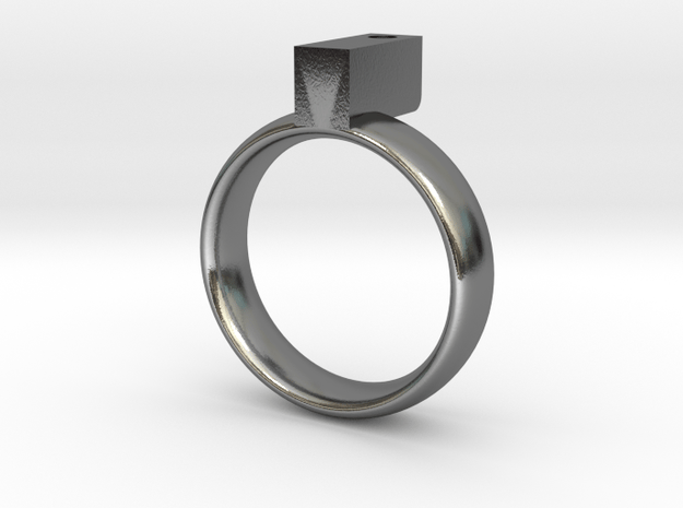 hole in the sky in Polished Silver