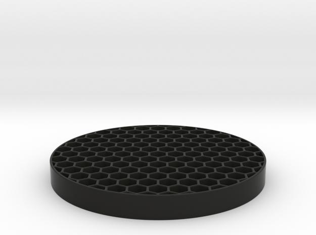 Honeycomb KillFlash 48mm Diam 5mm height 4 mm diag in Black Natural Versatile Plastic