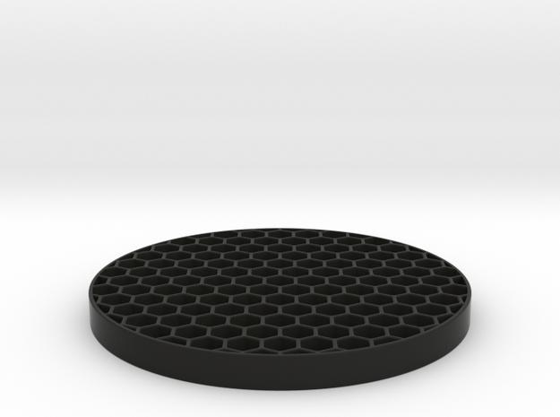 Honeycomb KillFlash 48mm 4mm height 4 mm diag clea in Black Natural Versatile Plastic
