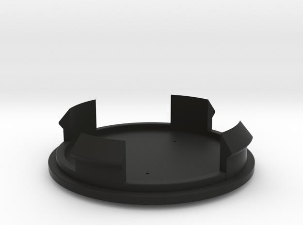 Toyota Centercap in Black Natural Versatile Plastic