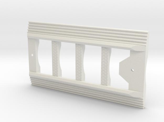 BoosterFrame in White Natural Versatile Plastic