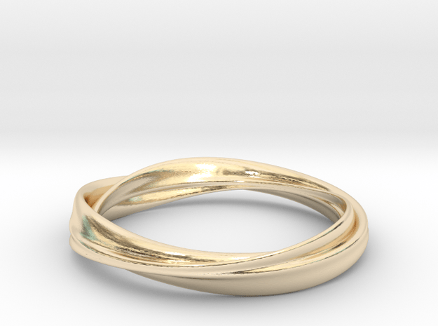No Addition Or Multiplication, Yet Still A Ring in 14K Yellow Gold