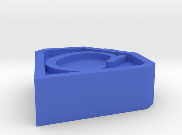 Charge For Connor Pendant/ Token in Blue Processed Versatile Plastic