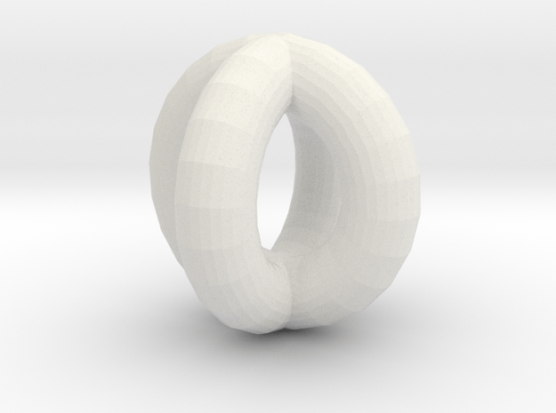 Dual tor in White Natural Versatile Plastic
