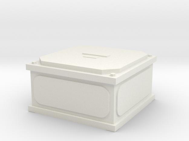 Elektroverteiler in White Natural Versatile Plastic